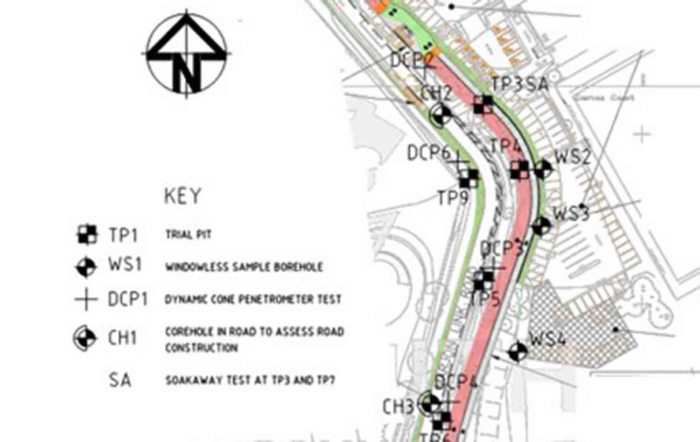 Marjon Link Road Plan